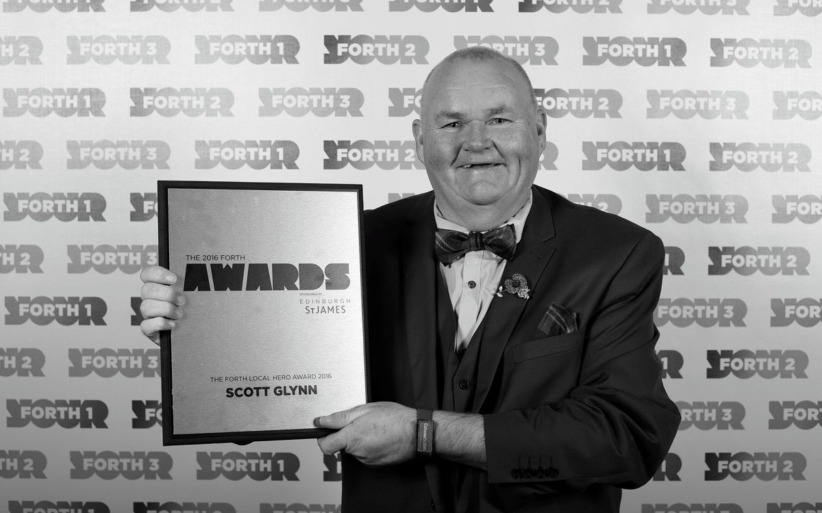 Scott Glynn - Radio Forth Local Hero Award