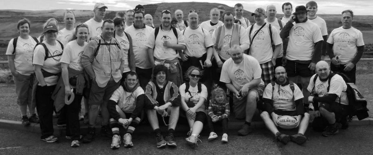 Scott Glynn - Walk With Scott 2015 - Charity Walk