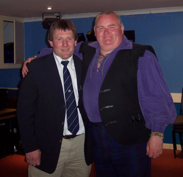 Scott Glynn with Gary Armstrong