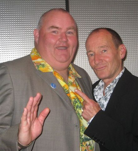 Scott Glynn with David Hayman