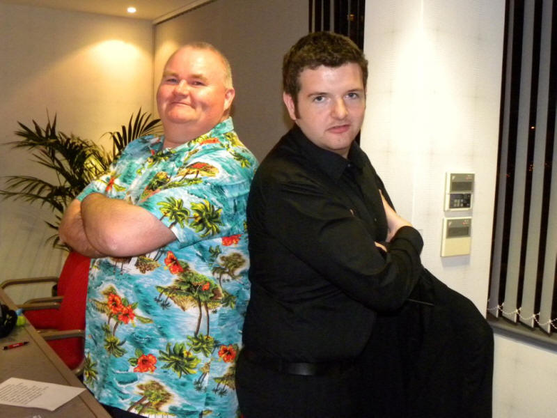 Scott Glynn with Kevin Bridges